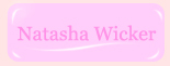 Natasha Wicker blogspot